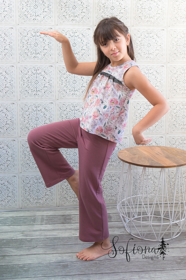 Starry Night Pjs with top and long length pants.
