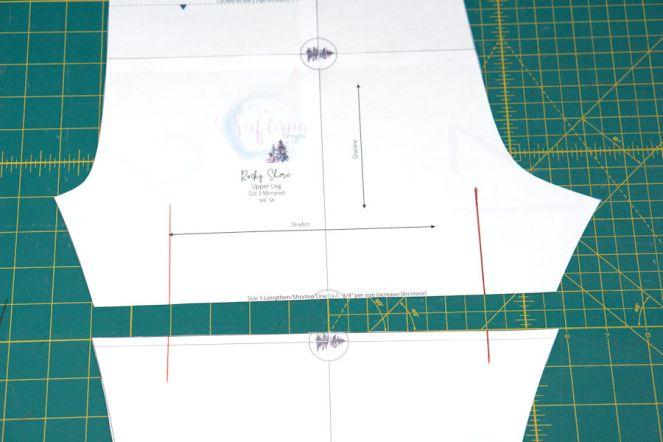 Using a Patterns' Lengthen/Shorten line – I am Mami de Sofiona