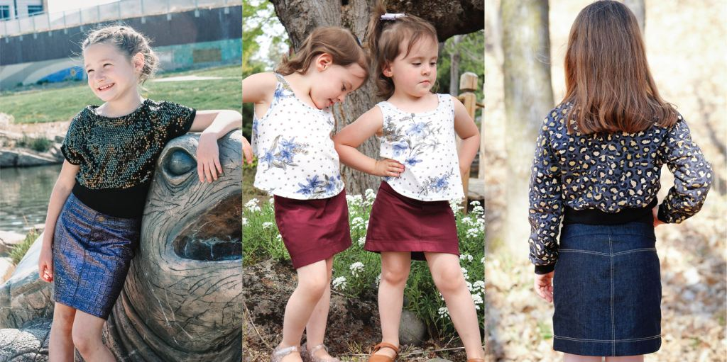 Simple no pocket version of the Bedrock Skirt.